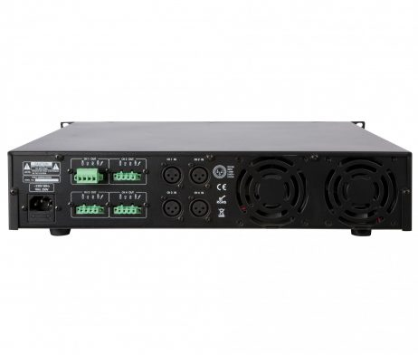 ArtSound galios stiprintuvas PR-4120 (4x120W) - Garsiau.lt