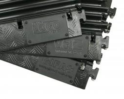 Apsauginis kilimėlis kabeliams Defender XXL - 5 kanalai - Garsiau.lt