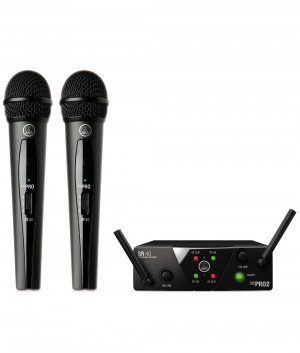 Vokalinis belaidis mikrofonas AKG WMS40 MINI2 Vocal Set - Garsiau.lt