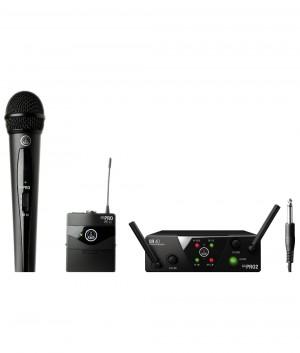 Vokalinis/instrumentinis belaidis mikrofonas AKG WMS40 MINI2 - Garsiau.lt