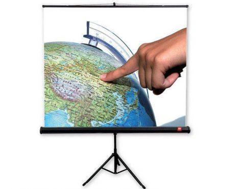Projektoriaus ekranas su trikoju Avtek TRIPOD Standard 200 - Garsiau.lt