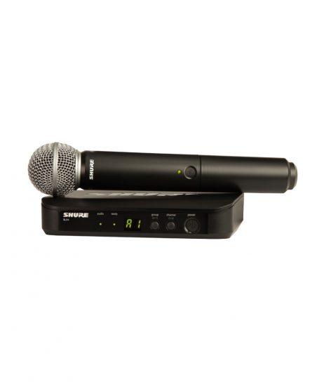Vokalinis belaidis mikrofonas Shure BLX24/SM58 - Garsiau.lt
