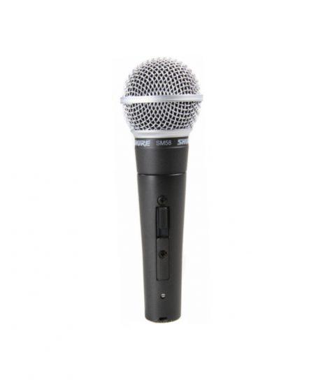 Vokalinis mikrofonas Shure SM58S - Garsiau.lt