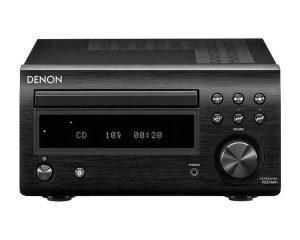 Denon RCD-M41 stereo stiprintuvas su CD grotuvu - juodas - Garsiau.lt