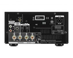 Denon RCD-M41 stereo stiprintuvas su CD grotuvu - pilkas - Garsiau.lt